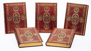 F. Guizot, L'Histoire de France, 5 Volumes