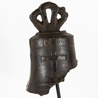 Early Bronze Bell, Possibly Spanish 17th Century