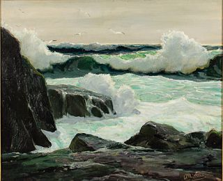 Anthony Thieme, Bright Light, Oil on Canvas