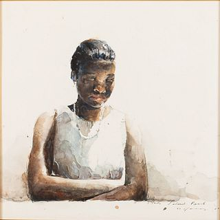 Stephen Scott Young, Island Pearl, Watercolor
