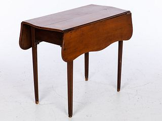 Chippendale Cherrywood Drop-leaf Table, 18th C