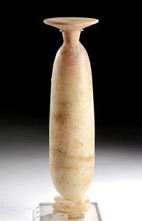 Rare / Tall Greek Archaic Footed Alabastron