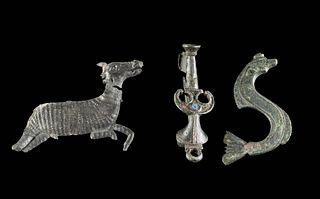 Parthian / Achaemenid / Romano British Metal Fibulae