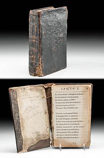 """Samuel Butler's """"Hudibras"""" in 3 Parts, 1674 & 1678"""