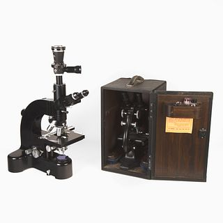 Group of Two Microscopes, ca. 1948-1962