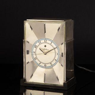 Paul Frankl, Skyscraper Electric Clock for Telechron, ca. 1930