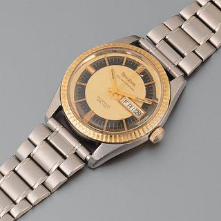 Bulova, Oceanographer Ref. 3372 Wristwatch, ca. 1974