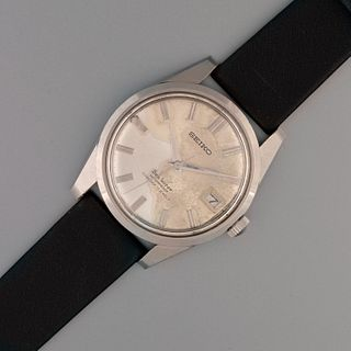 Seiko, Stainless Steel Seahorse Wristwatch Ref. 6602-8990, ca. 1965