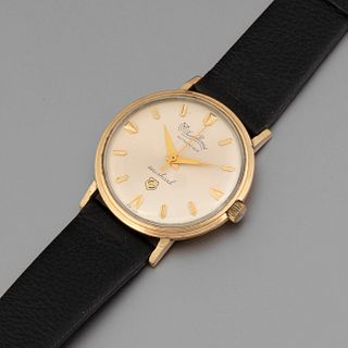 Lucien Piccard, Automatic Gold Filled Seashark Wristwatch, ca. 1960