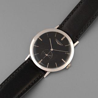 Longines, White Gold Ref. 1017 Wristwatch, ca. 1945