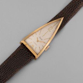 Lorenz / Continental, Pair of Triangular Curvex Wristwatches