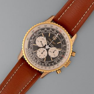 Breitling, Gold Plated Navitimer Chronograph Wristwatch, ca. 1986