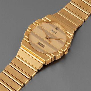 Piaget, Yellow Gold C 701 Polo Bracelet Watch, ca. 1995