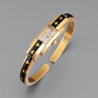 Bucherer, Gold Filled Bangle Watch, ca. 1955