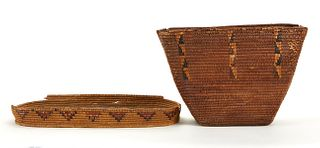 Grp: 2 Salish/Thompson River Baskets