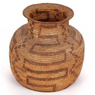Large Early Tohono O'odham Papago Basket