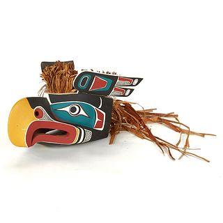 Kwakwaka'wakw Eagle Mask Pacific Northwest