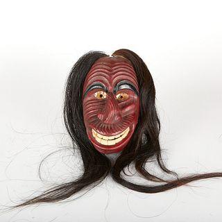 Jacob E. Thomas Cayuga False Face Mask