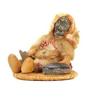 Annie Tooktoo Inuit Doll or Figure