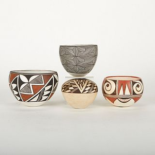 Grp: 4 Emma Lewis and Lucy Lewis Nancy Acoma Pots