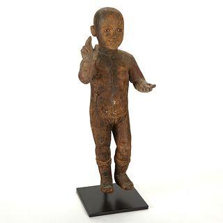 Large Infant of Prague Santos Figure