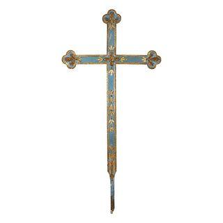 Large Spanish Colonial Wood Cross