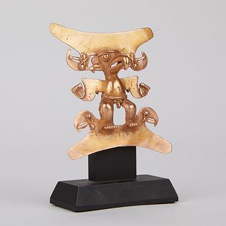 Small Panamanian Gold Eagle Shaman Pectoral