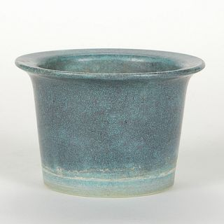 Chinese Crackle Robin's Egg Celadon Ceramic Planter