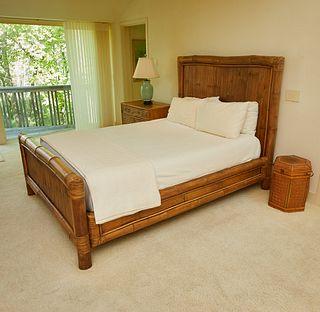 Split Bamboo Bed Frame
