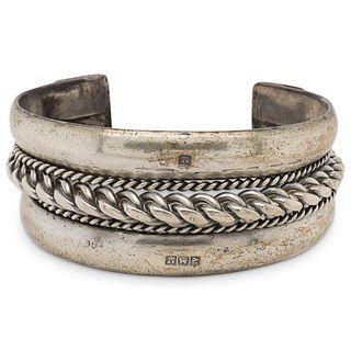 Antique Egyptian Silver Cuff