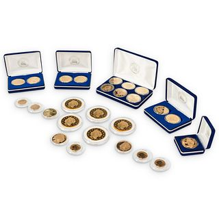 (26Pc) National Collector's Mint Commemorative Proof Coin Collection