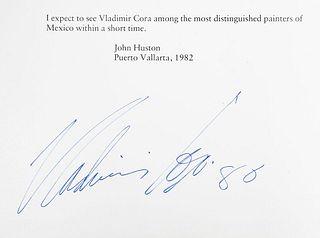 Obra de Vladimir Cora. a) Varios Autores. Vladimir Cora. California: B. Lewin Galleries, 1986.