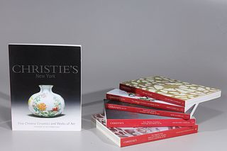 Large Group of Christie's Catalogs