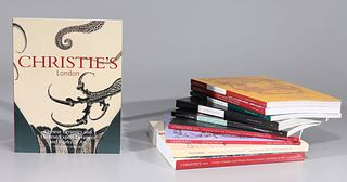 Large Group of Christie's Auction Catalogs