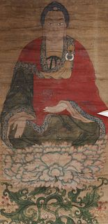 Large Antique Chinese Painting
