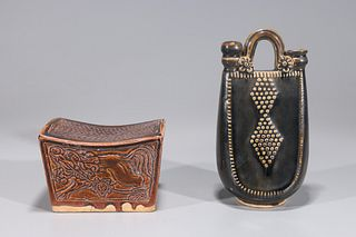 Two Chinese Early Style Ceramics