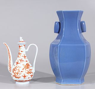 Two Chinese Porcelains