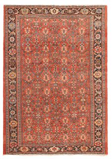 ANTIQUE PERSIAN SULTANABAD CARPET. - No reserve. 12 ft x 8 ft 7 in (3.65m x 2.61m)