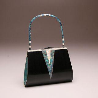 """Emilia"" Wood Evening Bag Special Edition"