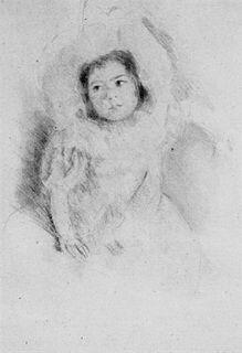 Mary Cassatt - Margot Wearing a Bonnet (No. 1)
