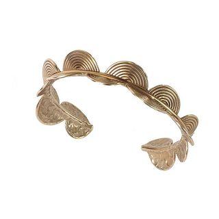 ESI Cuff Bracelet - Bronze