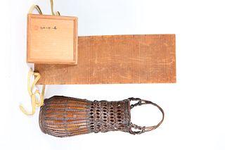 Tanabe Chikuunsai I Woven Wicker Basket