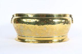 George III Brass Wine Cooler