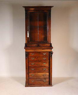 William IV Wellington Secretary Bookcase