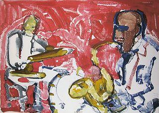 Romare Bearden - Out Chorus Rhythm Section