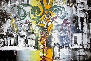 Romare Bearden - Introduction for a Blues Queen