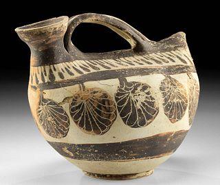 Rare Apulian / Messapian Pottery Askos TL Tested