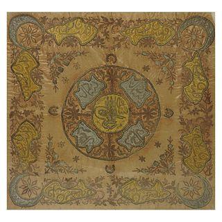Persian Silk Panel