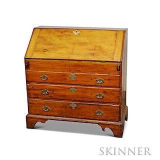 Queen Anne Cherry Slant-lid Desk