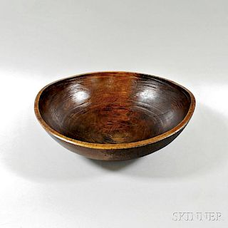 Large Turned Bowl